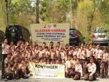 KONTINGEN PRAMUKA SIT DIY SIAP BERLAGA DI KEMNAS 4 SAKO PRAMUKA SIT INDONESIA